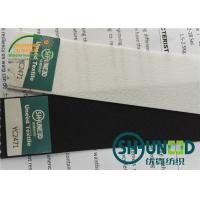 Quality 260 Gsm Stretchable Waistband Woven Interlining For Sweat Pants / Trousers for sale