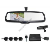 4.3 inch Rear view mirror Precision Parking with Reversing sensors