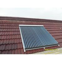 heat pipe solar water heating collector