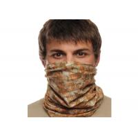 Quality Bicycle Simple UV  Headwear , Polyester  Tube Scarf Speed Dry for sale