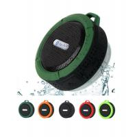 Hot sell C6 sport portable IP5 Bluetooth waterproof speaker, wireless mini speaker with TF card read and microphone