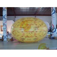 Buy cheap Gaint Inflatable Melon Fruit Shaped Balloons UV Printing 4m Long from wholesalers