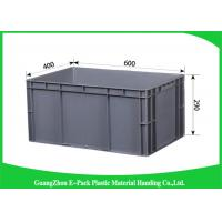 Quality Customized Large Plastic Storage Containers , Warehouse Stackable Plastic Boxes for sale
