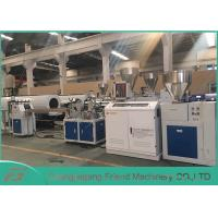 Quality Professional PVC Sheet Extrusion Line , 80mm Width White PVC Sheet Extruder for sale