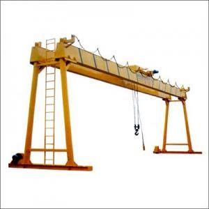 10 ton Single girder overhead crane in textile industry