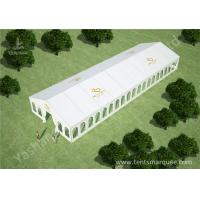 Quality 10m by 30m Outdoor Event Tent Marquee for Luxury Weddings Customized with Logos for sale