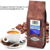 Various Colorful Metalized Film Coffee Packaging Bags , Laminated PET / AL / PE Material