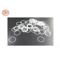 Quality White Silicone O Rings Oil Resistance For Home Appliance Rohs for sale
