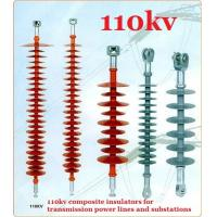 Buy EHV DC Transmission Line Long Rod Insulators Composite Polymer 110kv at wholesale prices