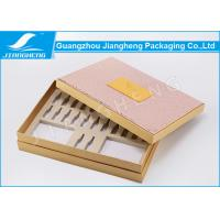 Quality PU Leather Hardcover Storage Unique Packaging Boxes For Cosmetics / Makeup Set for sale