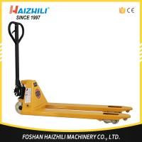 2.5 ton 685mm fork width hand hydraulic pallet truck trolley made in China