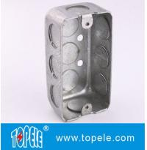 Quality TOPELE 58351 / 58361 / 58371 Galvanized Steel Box Rectangular Handy Box Utility Box for sale