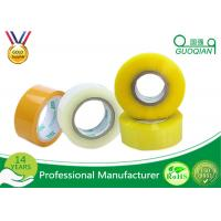 Quality 80M Length Clear Water Resistant Bopp Adhesive Tape High Temperature for sale