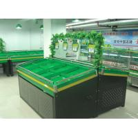 Wholesale Store / Supermarket Green Metal Food Display Stand For Fruit and Vegetable from china suppliers