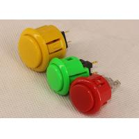 UL Approved Game Machine Parts Plastic Illuminated Push Arcade Machine Buttons