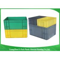 Quality PP Plastic Logistic Euro Stacking Containers For Food Clothes Auto Medical 21.2L for sale