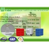 Nitro - Cotton Solvent Ethylene Glycol Ethyl Ether Acetate 156°C Boiling Point