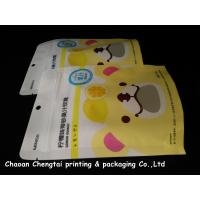 Quality Food Grade Stand Up Zipper Pouch / Packaging Bags Portable Gravure Printing for sale