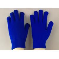 Buy 100% Acrylic Material Working Hands Gloves Soft Touching EN388 Certificated at wholesale prices