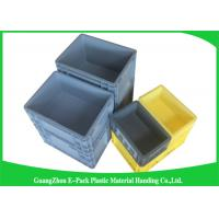 Quality 45 Litre Plastic Euro Stacking Containers Easy Stacking Eco - Friendly 600 * 400 * 230mm for sale