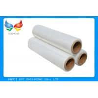 Buy Calendered Clear PVC Shrink Film packaging 40 Mic Easy Handling , Length 1000m-5000m at wholesale prices