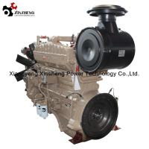 Motor diesel del cajón CCEC 6 del cilindro refrigerado por agua de NTA855-P450 para el sistema diesel de la bomba de agua