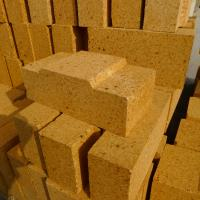 Quality 55% Alumina Kiln Refractory Bricks Red Heat proof and Thermal Shock Resistance for sale