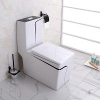 Wholesale Continental Square Muted Color Toilet Water Saving Luxury Seat Toilet from china suppliers