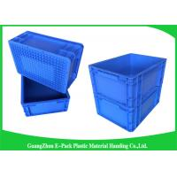 Quality 400*300mm Mini Load Industrial Plastic Containers , Standard Euro Storage Boxes for sale