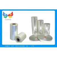 High Efficient PETG Clear Plastic Film , Flexible Packaging Film For Mineral Water