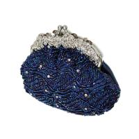 The pop selling shiny pu skull Mc Queen style clutch bags