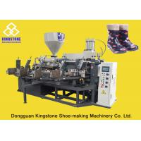 Quality PVC Short Gum boots Injection Machine , Automatic Safety Shoe Making Machine for sale