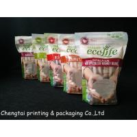 Quality Food Grade Flexible Printed Stand Up Pouch With Zipper For Rice Food for sale