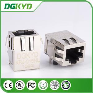 100BASE Ethernet Cable RJ45 Modular Jack with EMI Fingers,J0011D21NL