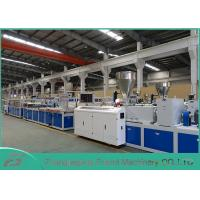 Quality White PVC Panel Board Making Machine Decorating Board Extruder Machine 5~25mm Thickness for sale
