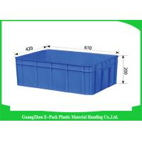 Quality Euro Industrial Storage Bins , Large Plastic Containers Cold Chain Moisture 43L for sale