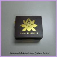 Wholesale UV Coating Logo Rigid Gift Box / Handmade Smart Phone Packaging Box Matte Finish from china suppliers