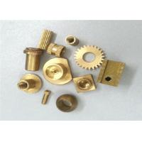 Buy Metal Gear Brass Machined Parts Stamping 0.01 Tolerance ISO Certification at wholesale prices