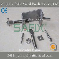 C Bracket System / Channel Restraint/ Channel Support For Stone Cladding