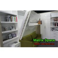 Wholesale Folding Vertical Wall Bed Hidden Wall Murphy for Bedroom / Hotel / Apartment from china suppliers