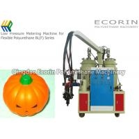 6 - 15 Kw Polyurethane Molding Machine For Soft Pumpkin Head Toy Maker