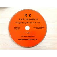 "Wholesale 14""/350mm Diamond saw blade for marble with fish hook slot from china suppliers"