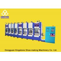 Quality 8 Stations Vertical EVA Boot Making Machine 200-300 Pairs Per Hour 2 Years Gurantee for sale