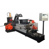 Quality 180KW Masterbatch Single Screw Extruder Kneader Hot Cutting Pelleting System for sale
