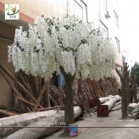 Artificial wisteria trees on sale artificial wisteria trees uvg 13ft big plastic artificial wisteria blossom tree with white silk flowers for weddings mightylinksfo