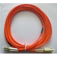 High Precision Fiber Optic Patch Cord Multimode Duplex SC-LC