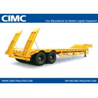 13m Low Bed Semi-Trailer with 2 axles for 30T