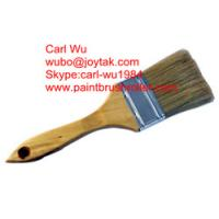 Natural pure bristle Chinese bristle synthetic mix paint brush wood handle plastic handle 2 inch PB-011