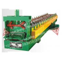 PLC Control Metal Wall Panel Roll Forming Machine For Workshop High Efficiency