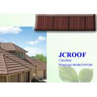 Quality Strong and popular  NIGERIA stone roofCorrugated Metal Roofing Sheets matching 8 accessories for sale